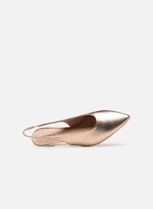 Sandali e scarpe aperte Humat Galena Alto Rosa immagine sinistra