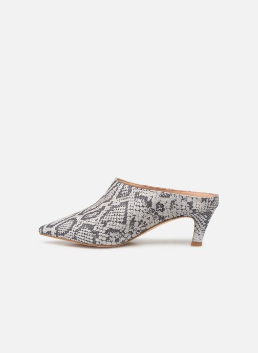 Wedges Humat Galena Zueco Wit voorkant