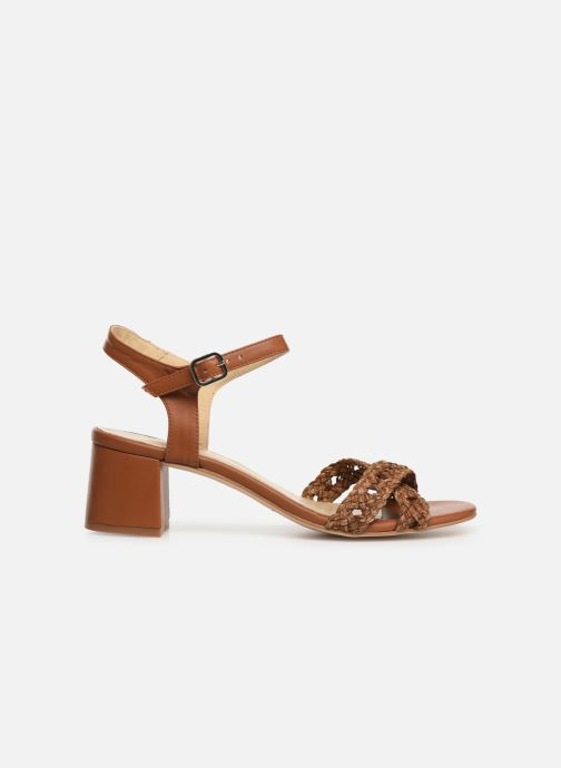Sandals Humat Julia Cruz Brown back view