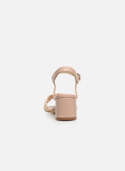 Sandals Humat Julia Cruz Beige view from the right