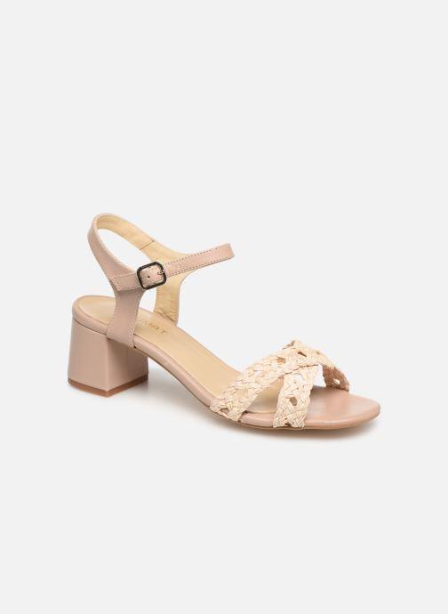 Sandals Humat Julia Cruz Beige detailed view/ Pair view
