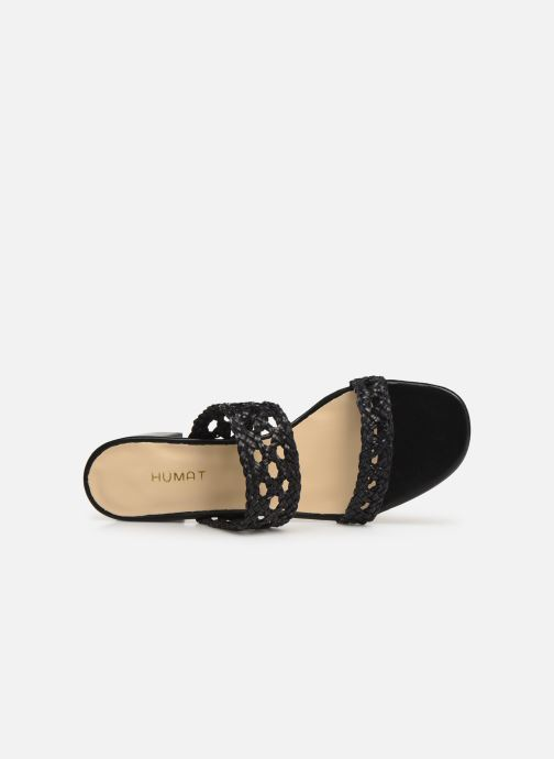 Mules & clogs Humat Julia Trenza Black view from the left