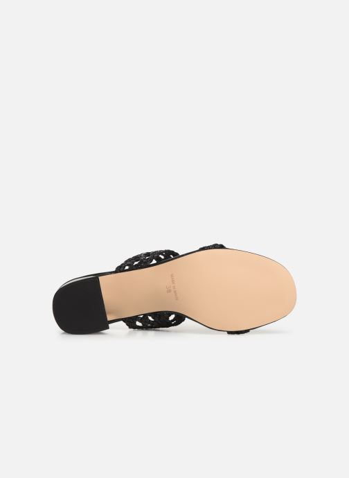 Mules & clogs Humat Julia Trenza Black view from above