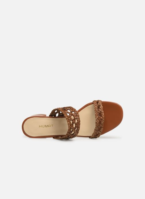 Mules & clogs Humat Julia Trenza Brown view from the left