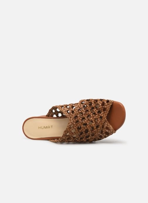 Wedges Humat Julia Trenzado Bruin links