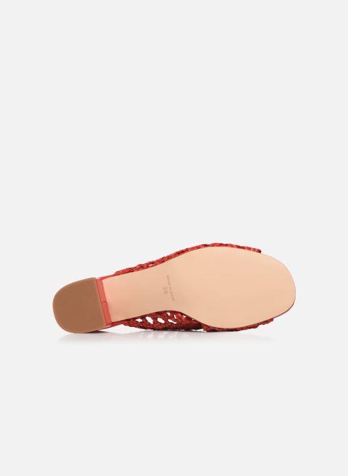 Zoccoli Humat Julia Trenzado Rosso immagine dall'alto