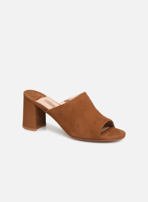 Mules & clogs Humat Lidia Zueco Brown detailed view/ Pair view