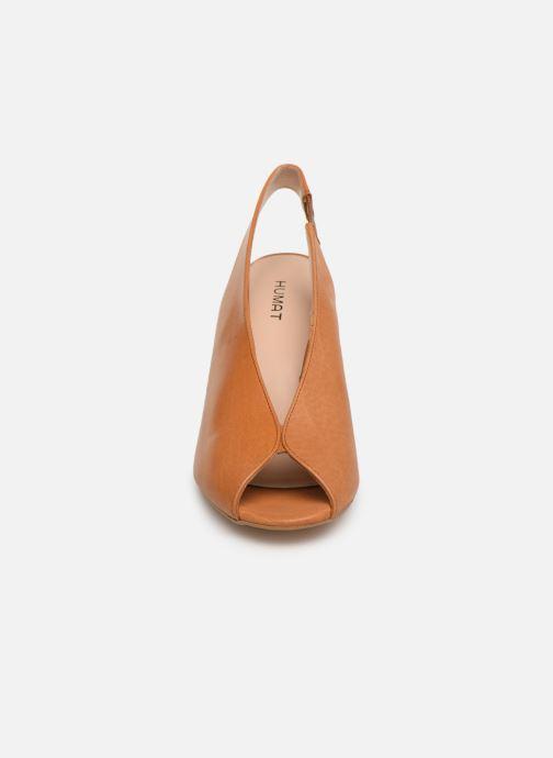 Sandals Humat Mona Elastico Brown model view