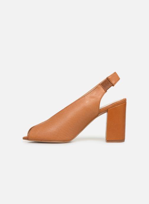 Sandalen Humat Mona Elastico Bruin voorkant