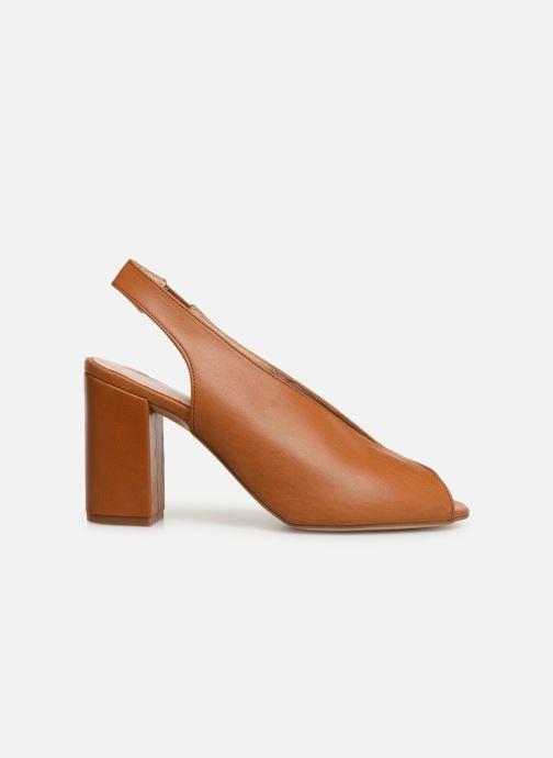 Sandals Humat Mona Elastico Brown back view