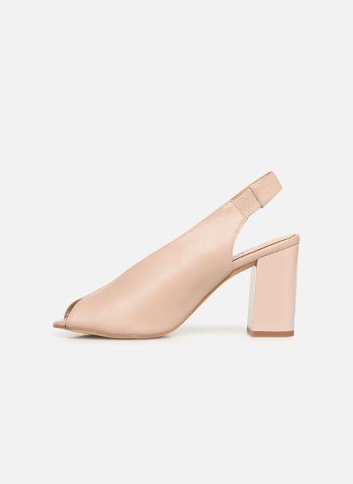 Sandals Humat Mona Elastico Beige front view