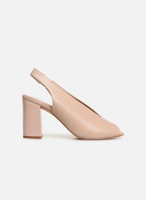 Sandals Humat Mona Elastico Beige back view