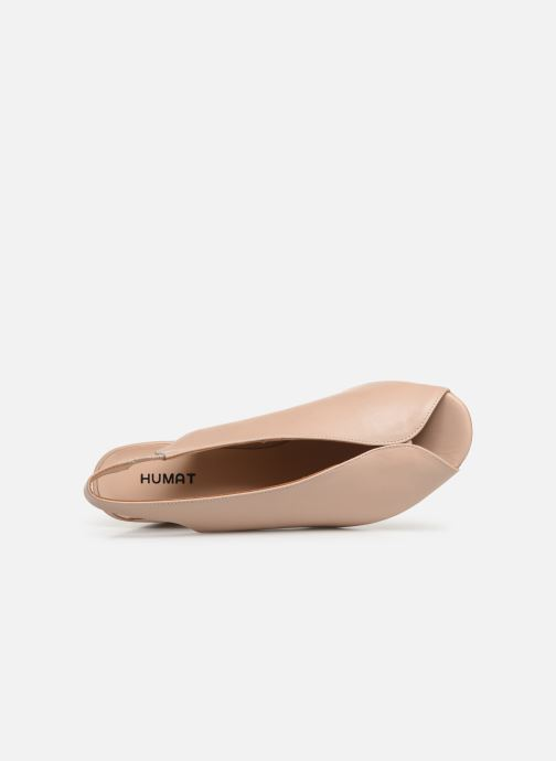 Sandals Humat Mona Elastico Beige view from the left