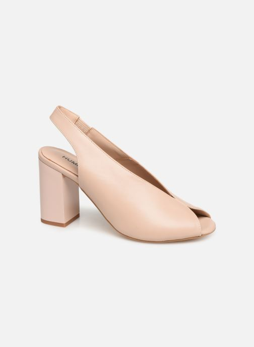 Sandales et nu-pieds Humat Mona Elastico Beige vue détail/paire