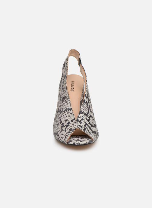 Sandali e scarpe aperte Humat Mona Elastico Bianco modello indossato