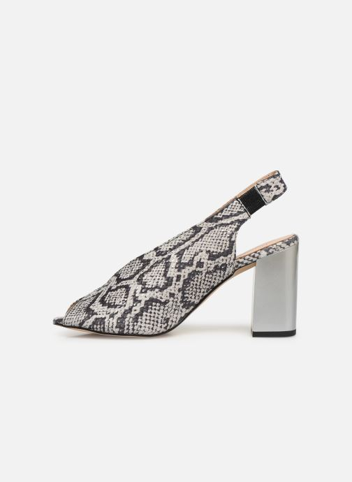 Sandalen Humat Mona Elastico weiß ansicht von vorne