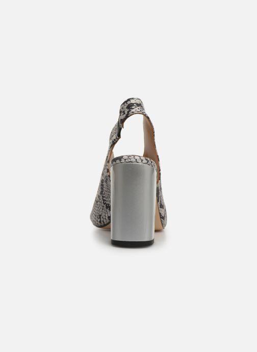Sandali e scarpe aperte Humat Mona Elastico Bianco immagine destra