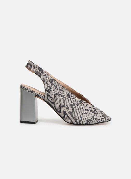 Sandalen Humat Mona Elastico weiß ansicht von hinten
