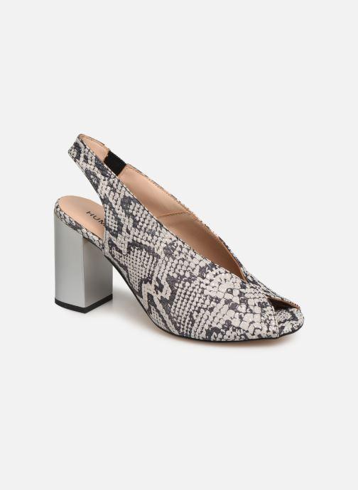 Sandals Humat Mona Elastico White detailed view/ Pair view