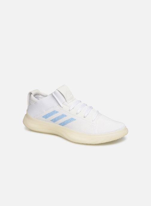 Chaussures de sport adidas performance PureBOOST TRAINER W Blanc vue détail/paire