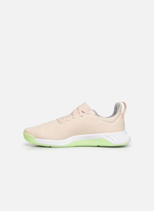 Scarpe sportive adidas performance Solar LT TRAINER W Beige immagine frontale