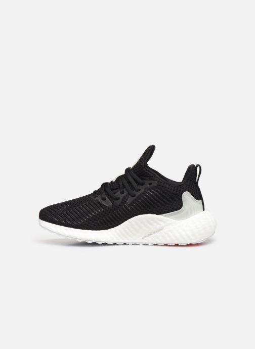 Sportschuhe adidas performance alphaboost w PARLEY schwarz ansicht von vorne