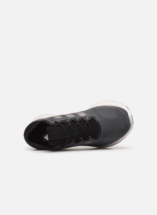 Zapatillas de deporte adidas performance edge flex w Gris vista lateral izquierda
