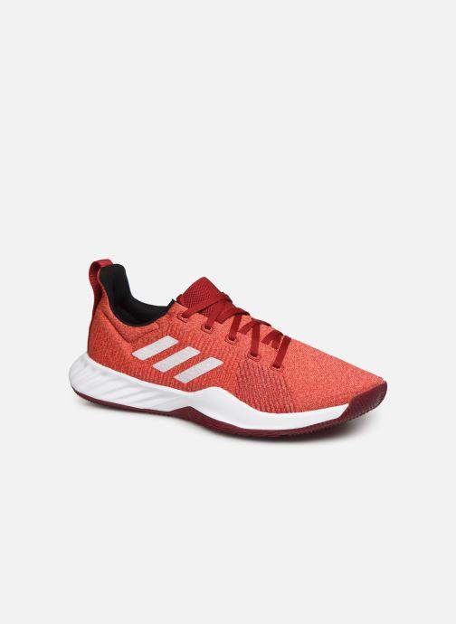 Chaussures de sport adidas performance Solar LT TRAINER M Rouge vue détail/paire