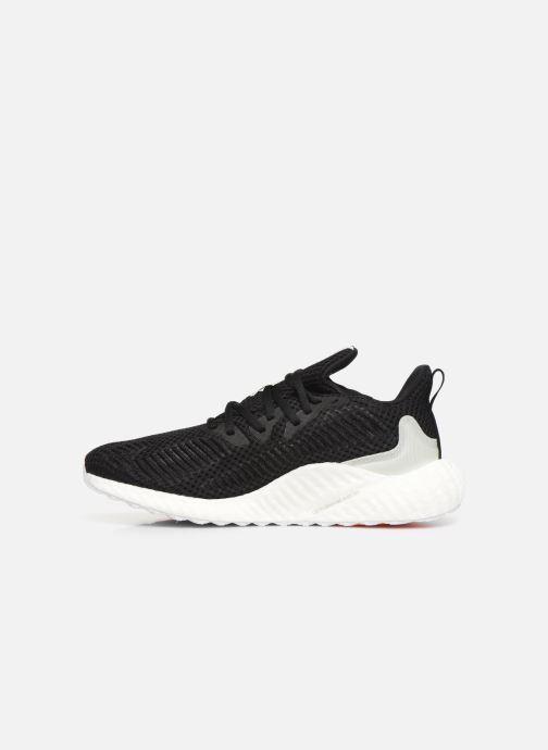 Chaussures de sport adidas performance alphaboost m PARLEY Noir vue face