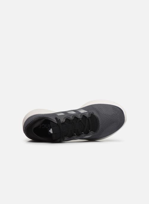 Sportschuhe adidas performance edge flex m grau ansicht von links