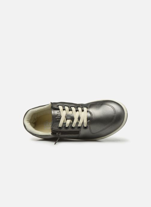 Sneakers TBS Made in France Danzips Argento immagine sinistra