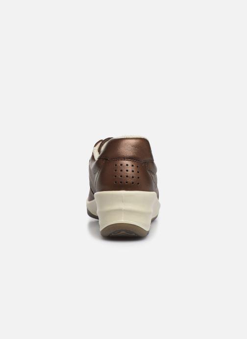 Baskets TBS Made in France Danzips Marron vue droite