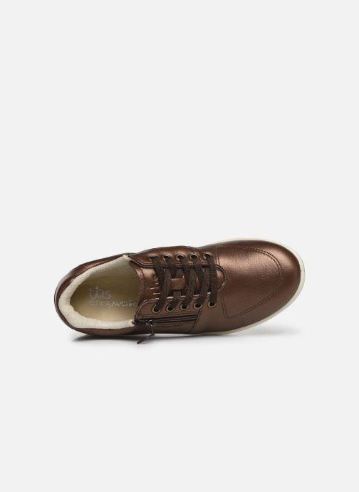 Sneakers TBS Made in France Danzips Marrone immagine sinistra