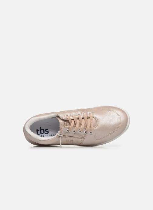 Sneakers TBS Made in France Danzips Beige immagine sinistra