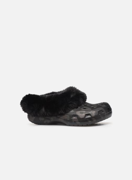 Mules et sabots Crocs Classic Mammoth Luxe Metallic C Noir vue derrière