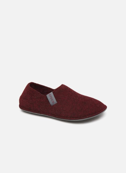 Pantuflas Crocs Classic Convertible Slipper W Vino vista de detalle / par