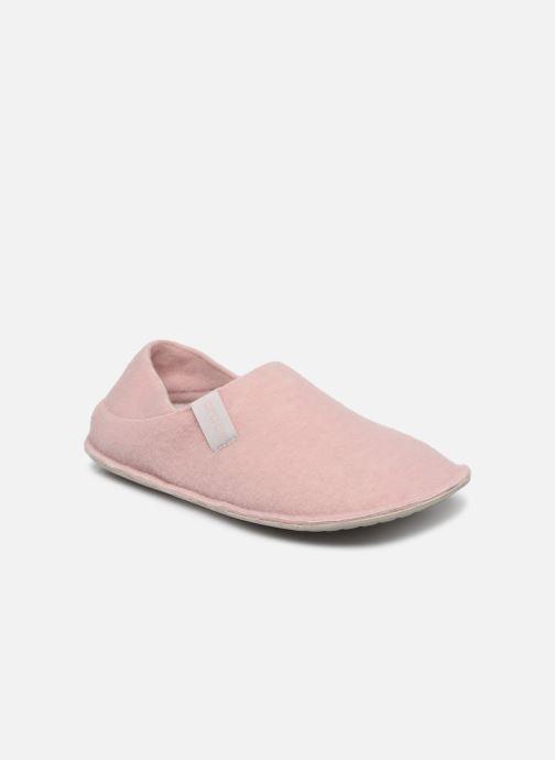 Pantuflas Crocs Classic Convertible Slipper W Rosa vista de detalle / par