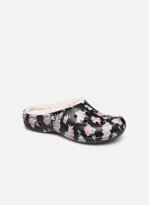 Wedges Dames Crocs Freesail Printed Lined Clog