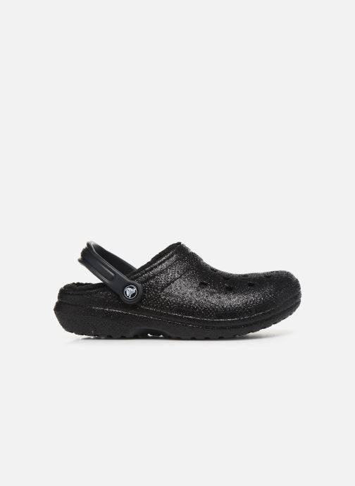 Mules & clogs Crocs Classic Glitter Lined Clog Black back view