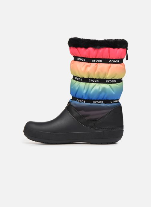 Chaussures de sport Crocs Crocband Neo Puff Winter Boot W Multicolore vue face