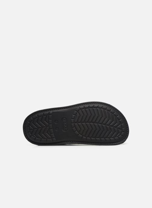 Chaussons Crocs Classic Convertible Slipper M Noir vue haut
