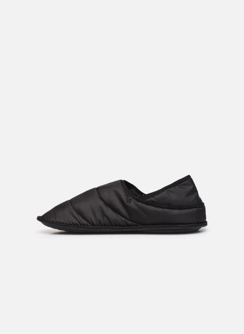 Hausschuhe Crocs Neo Puff Slipper M schwarz ansicht von vorne