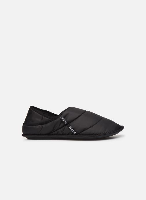 Chaussons Crocs Neo Puff Slipper M Noir vue derrière