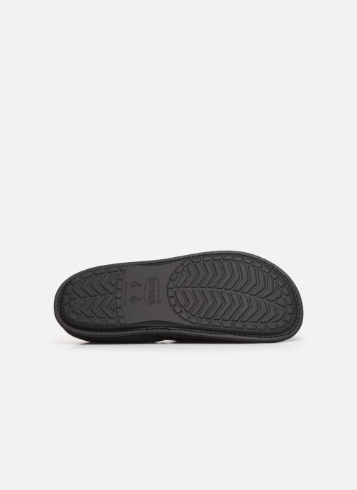 Hausschuhe Crocs Neo Puff Slipper M schwarz ansicht von oben