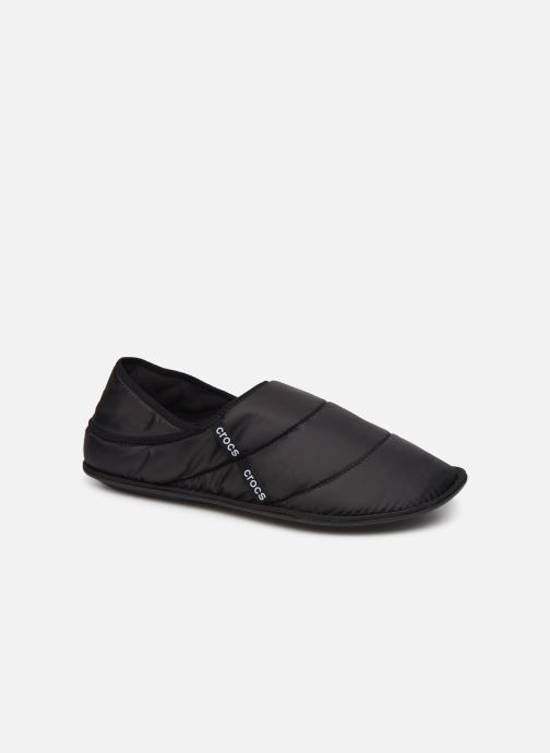 Hausschuhe Crocs Neo Puff Slipper M schwarz detaillierte ansicht/modell