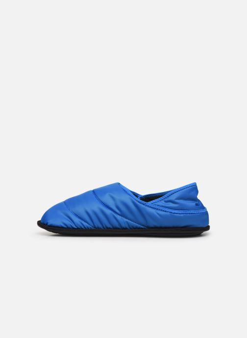 Chaussons Crocs Neo Puff Slipper M Bleu vue face