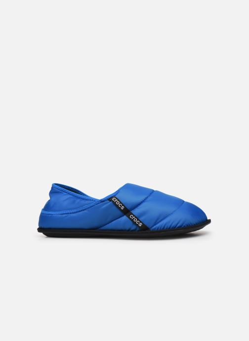 Chaussons Crocs Neo Puff Slipper M Bleu vue derrière