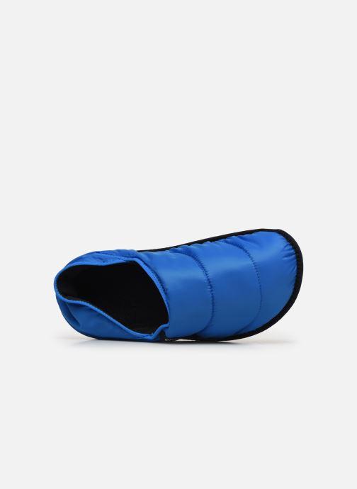 Hausschuhe Crocs Neo Puff Slipper M blau ansicht von links