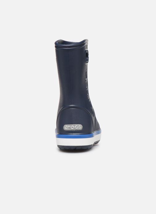 Stövlar & gummistövlar Crocs Crocband Rain Boot K Blå Bild från höger sidan