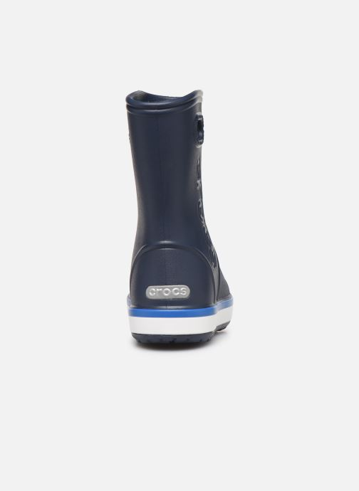 Boots & wellies Crocs Crocband Rain Boot K Blue view from the right